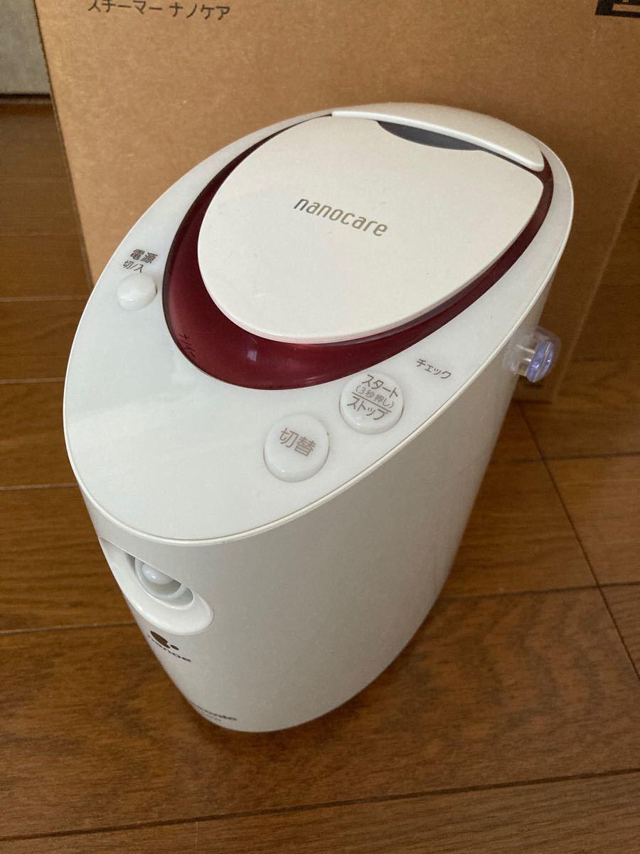【美品】Panasonic パナソニック スチーマー ナノケア 美顔器 EH-SA600F-P