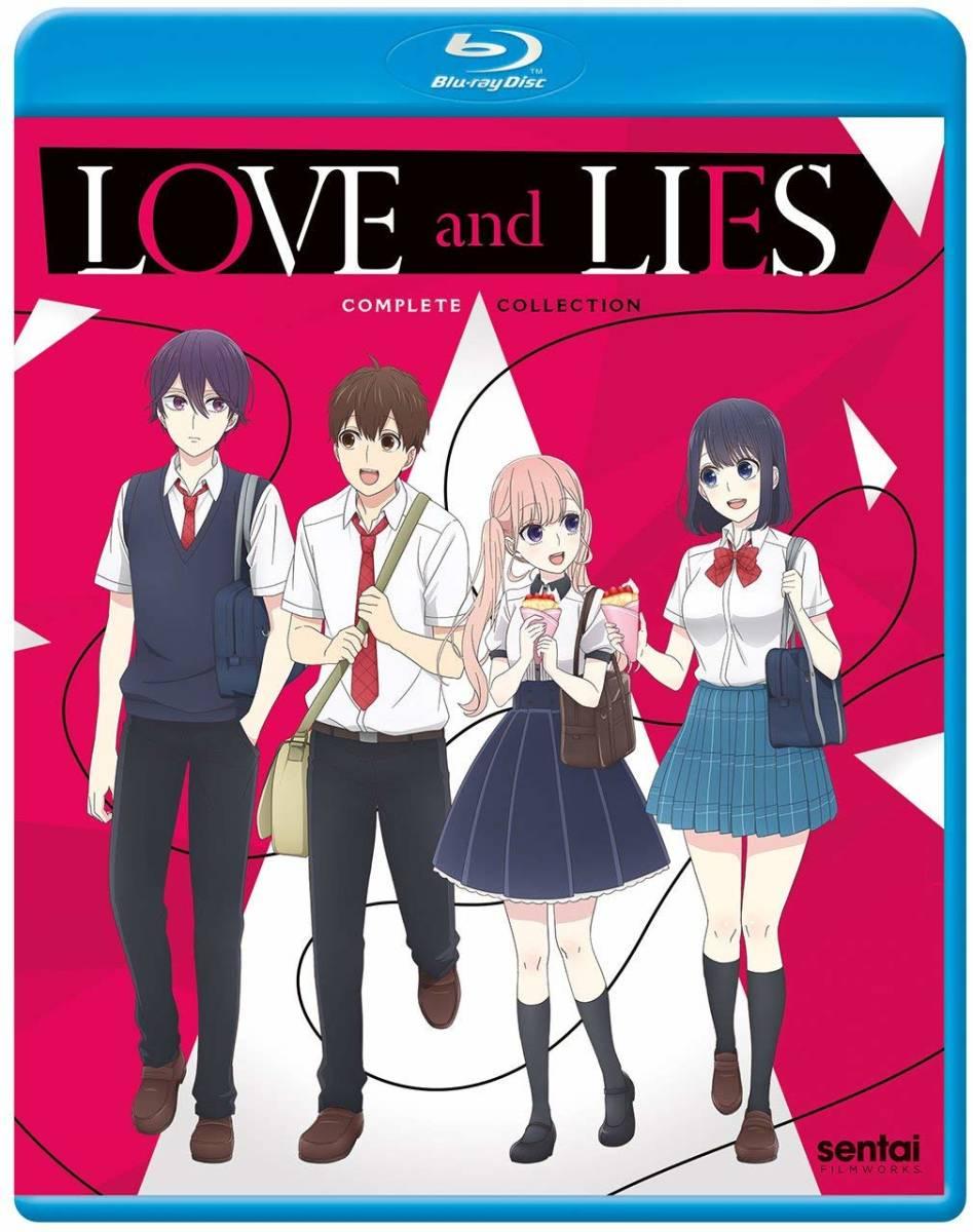 【送料込】恋と嘘 全12話 (北米版ブルーレイ) Love and Lies blu-ray BD
