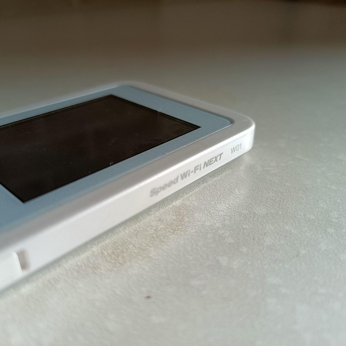 WiMAX2 Wi-Fi  モバイルルーター  NEXT w01