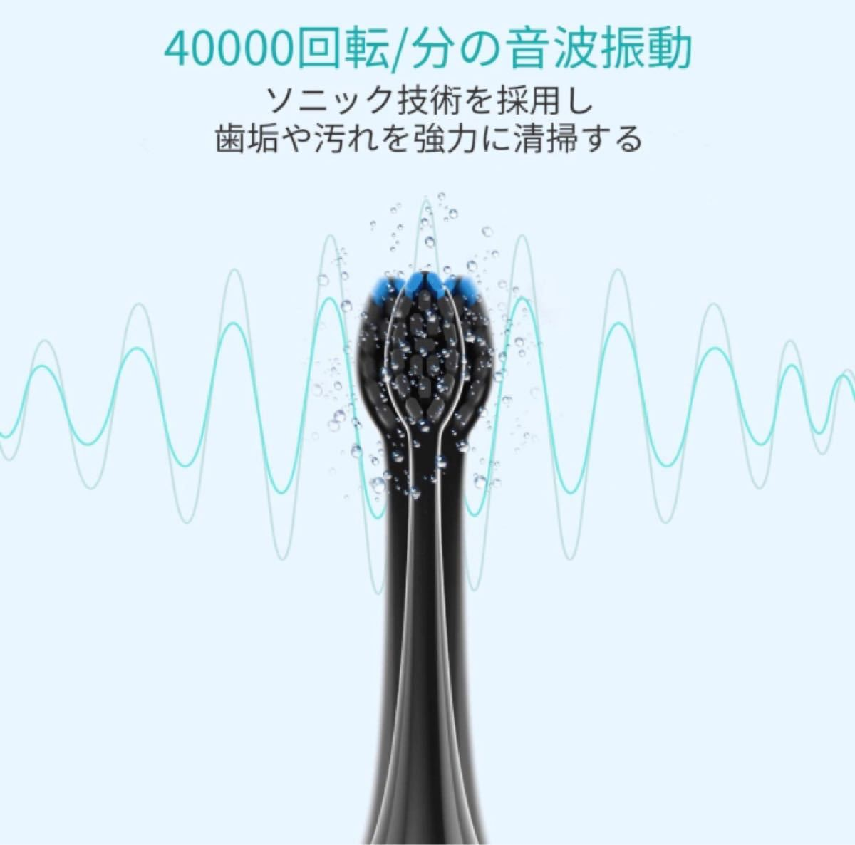音波振動電動歯ブラシ