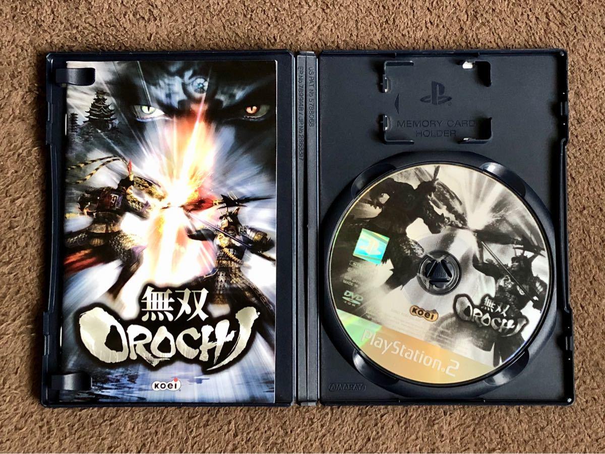 PS2 無双ORCHI プレイステーション2 ソフト【箱説有・簡易清掃済・動作確認済】