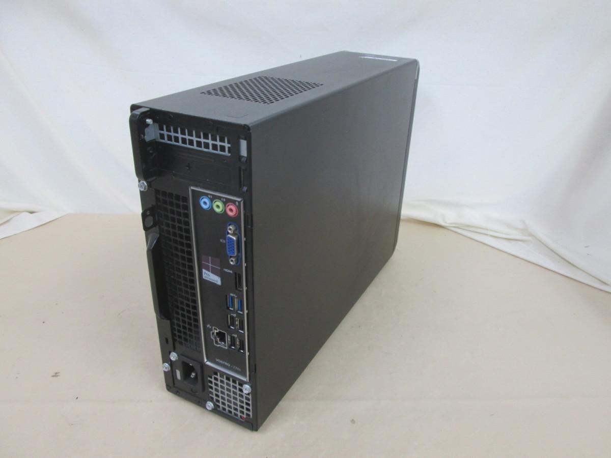 DELL Vostro 270s Core i3 3240 3.4GHz 8GB 500GB DVD作成 Win10 64bit Office USB3.0 Wi-Fi HDMI [79864]_画像2