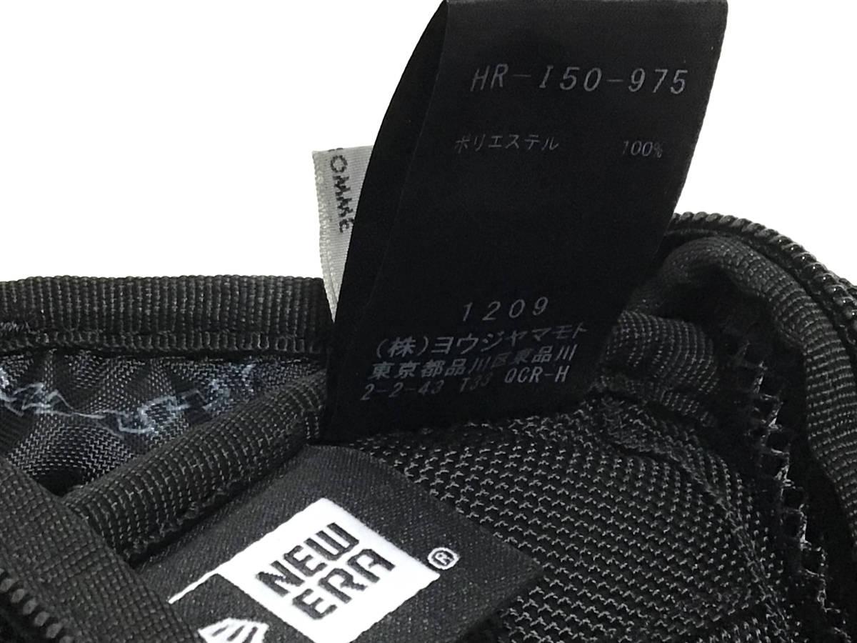 完売品 希少 2020-2021AWコレクション Yohji Yamamotoxニューエラ EXP ウエストバッグ ヨウジヤマモト 黒_画像10