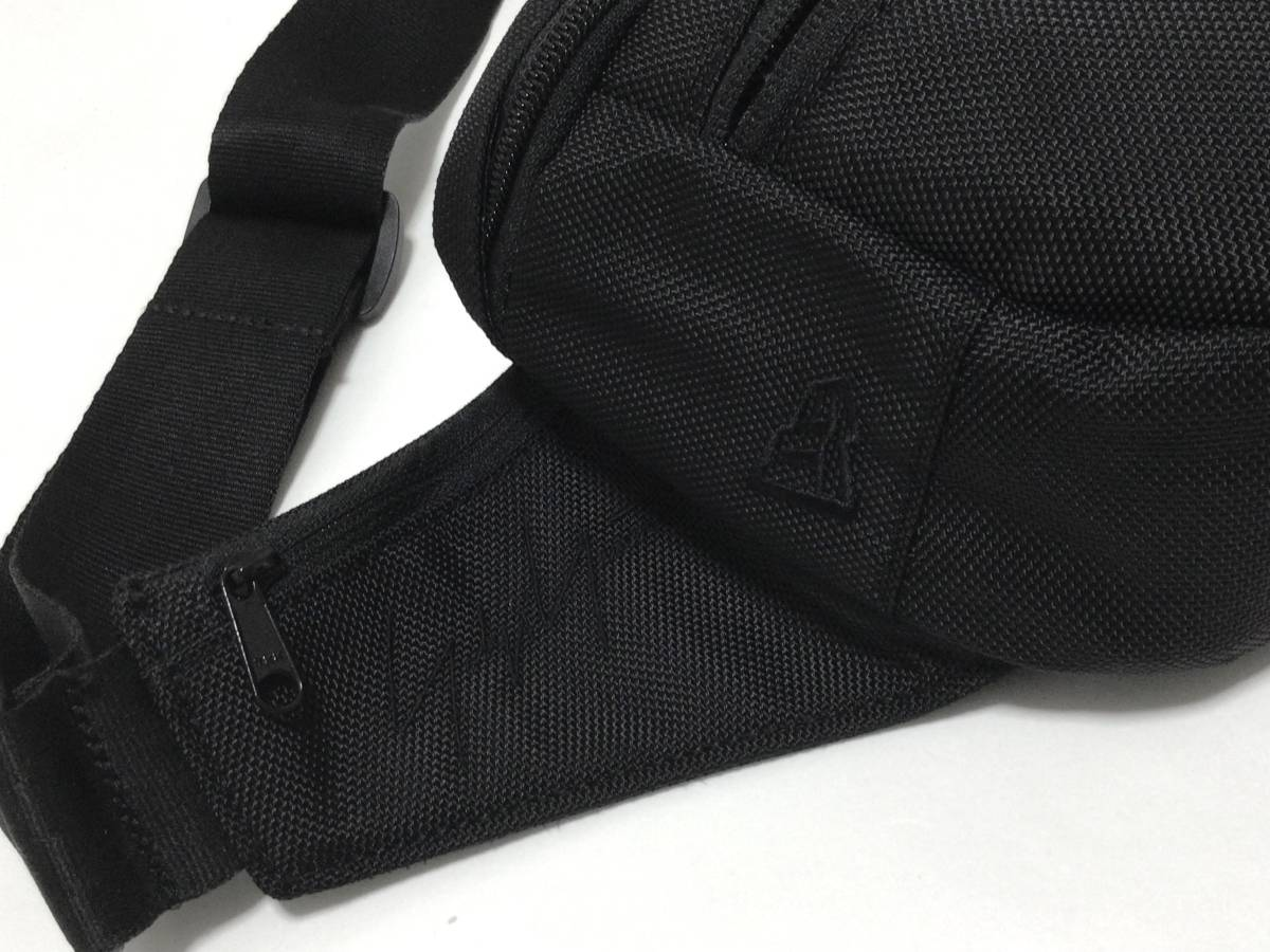 完売品 希少 2020-2021AWコレクション Yohji Yamamotoxニューエラ EXP ウエストバッグ ヨウジヤマモト 黒_画像3