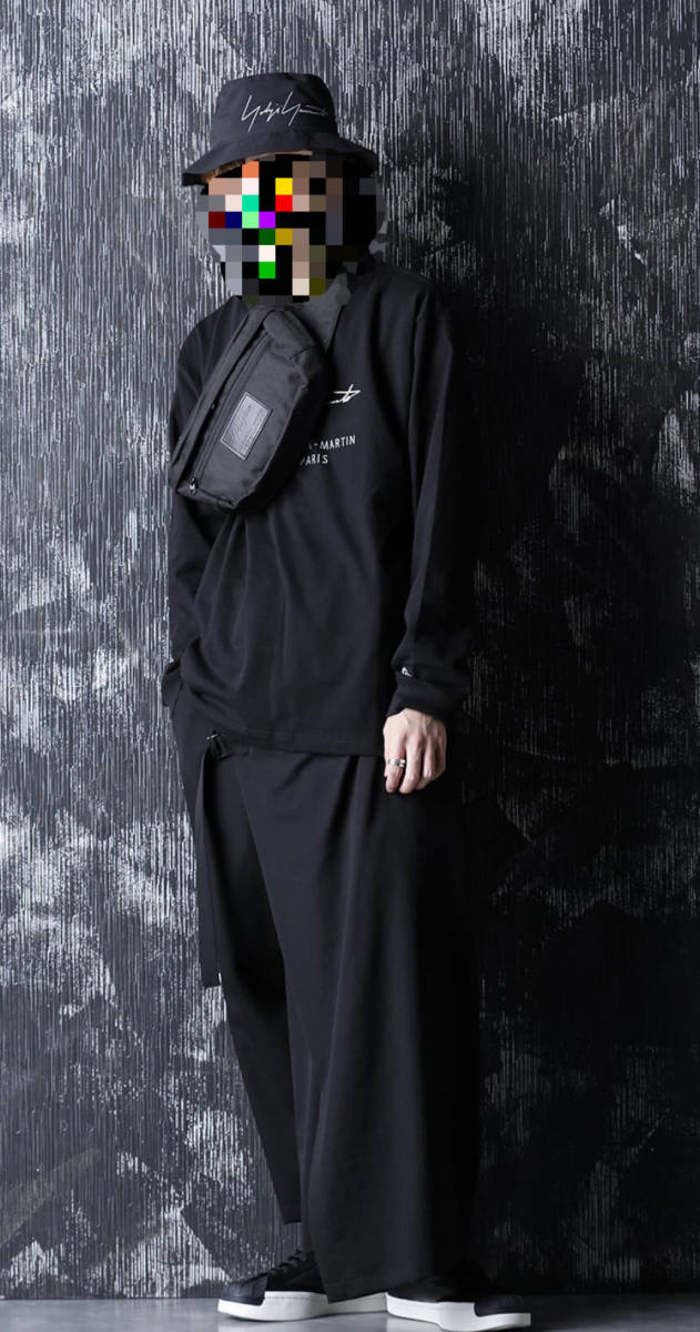 完売品 希少 2020-2021AWコレクション Yohji Yamamotoxニューエラ EXP ウエストバッグ ヨウジヤマモト 黒_画像2
