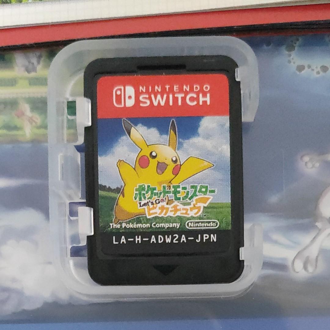 ポケットモンスターレッツゴーピカチュウ Switch スイッチソフト Let''s Go ピカチュウ