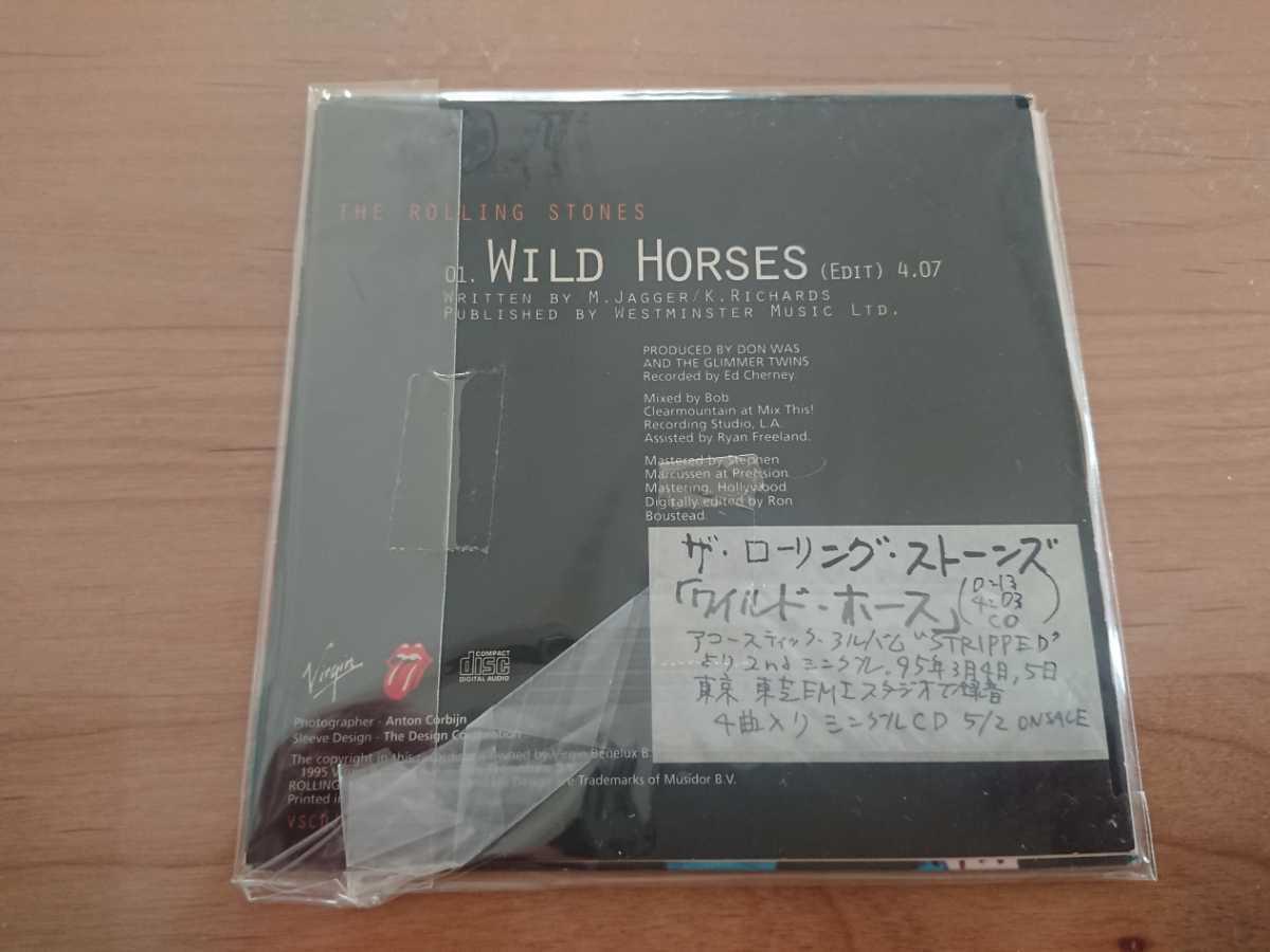 ★ローリング・ストーンズ The Rolling Stones ★ワイルド・ホース Wild Horses ★紙ジャケット仕様CD ★国内盤 ★中古品