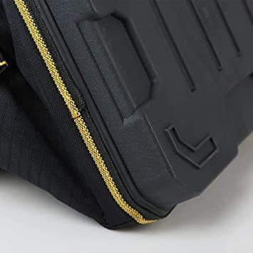 新品34.5x20.5x22CM YZL ツールバッグ 工具袋 ショルダー ベルト付 肩掛け 手提げ 大口収納 HU6N_画像3