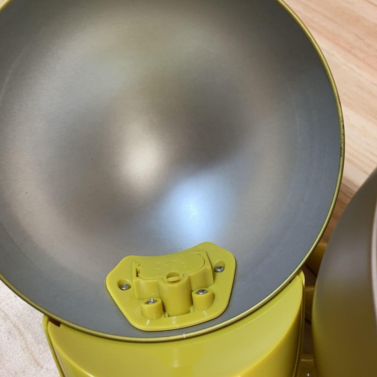 4N8728-5 しゃべる 金のキョロちゃん缶 森永チョコボール おもちゃのカンヅメ_画像4