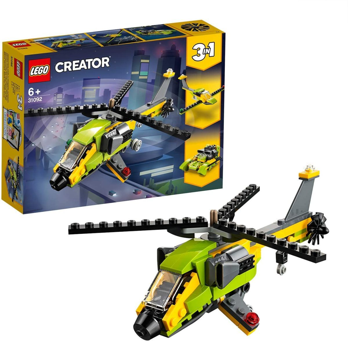 レゴ(LEGO) クリエイター ヘリコプター・アドベンチャー 31092 知育玩具 ブロック おもちゃ 女の子 男の子_画像1