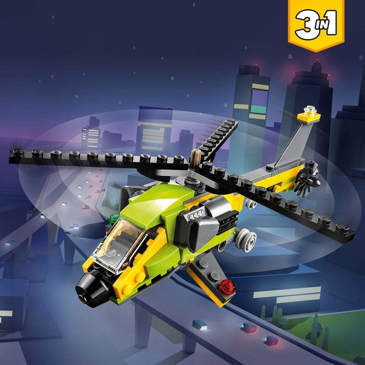 レゴ(LEGO) クリエイター ヘリコプター・アドベンチャー 31092 知育玩具 ブロック おもちゃ 女の子 男の子_画像2