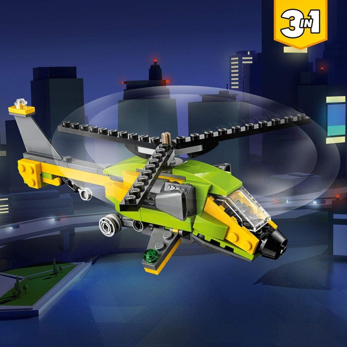 レゴ(LEGO) クリエイター ヘリコプター・アドベンチャー 31092 知育玩具 ブロック おもちゃ 女の子 男の子_画像3