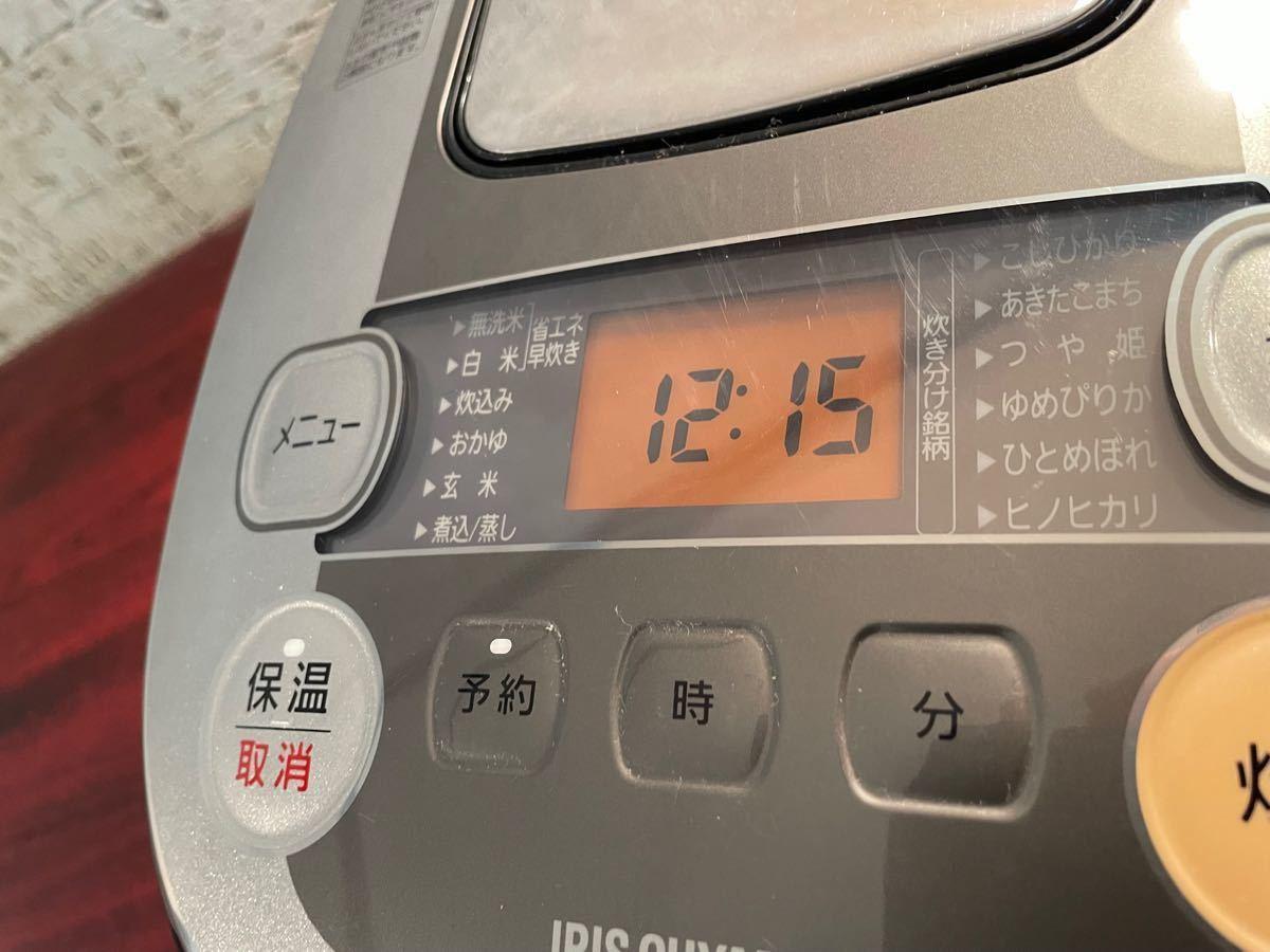 アイリスオーヤマ IHジャー炊飯器 大火力 銘柄炊き 2017年製 5合炊き