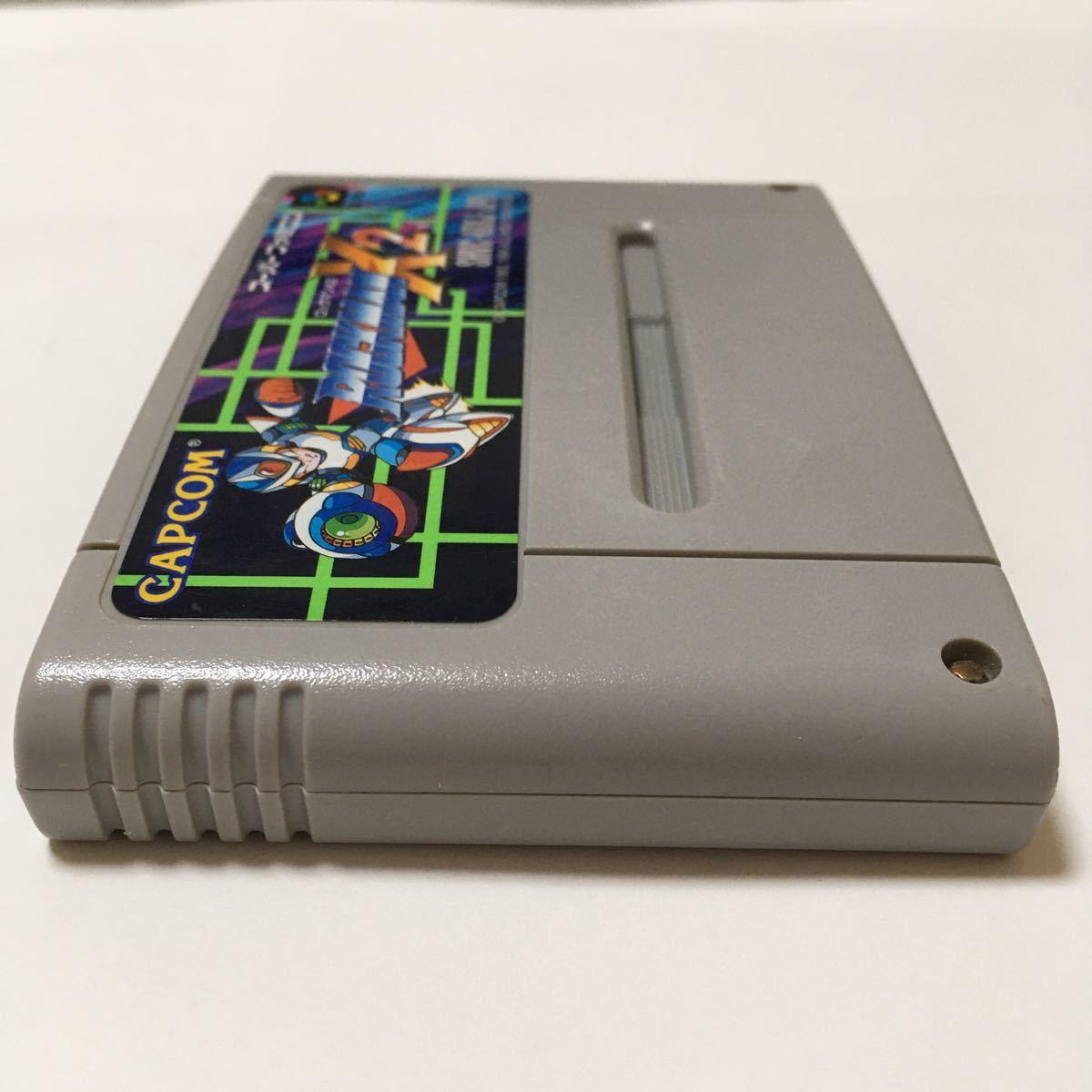 スーパーファミコン ソフト ロックマンX2 スーファミ SFC ロックマン 動作確認済み レトロ ゲーム 任天堂 カプコン 美品