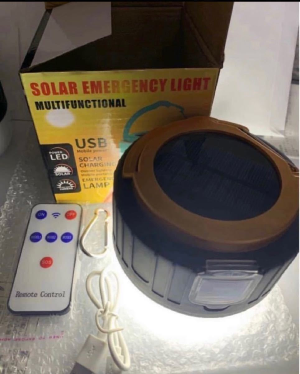 【最新版】LEDランタン ソーラーランタン 高輝度 キャンプランタン usb充電式 リモコン 付き携帯型 防水仕様災害グッズ非常用