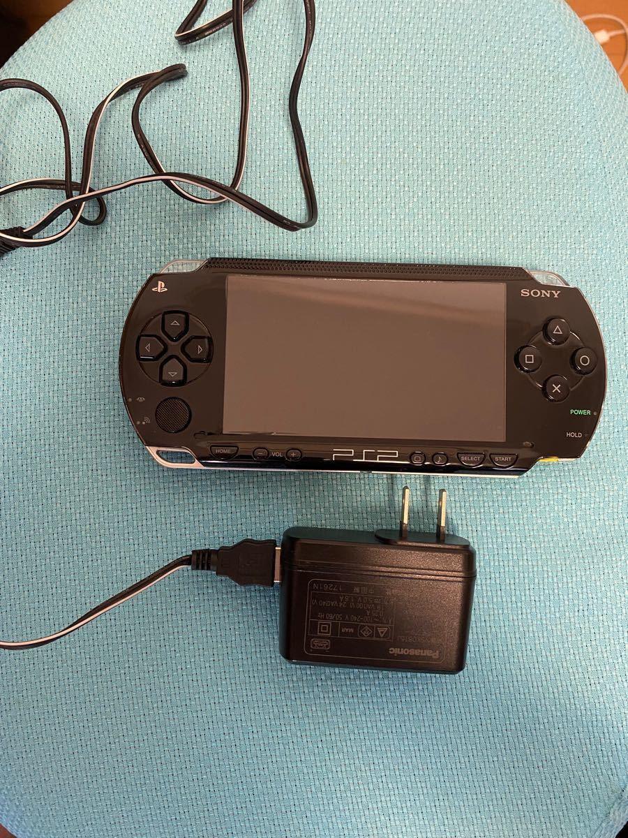 PSP本体 プレイステーションポータブル メモリーカード付