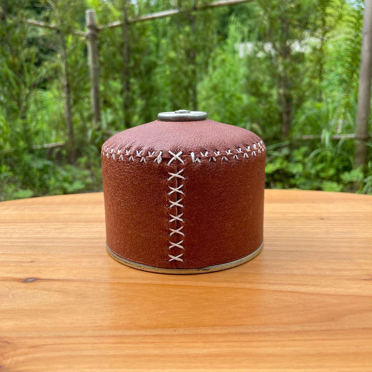 ガス缶カバー OD缶カバー 250 ラセッテーレザー ヌメ革