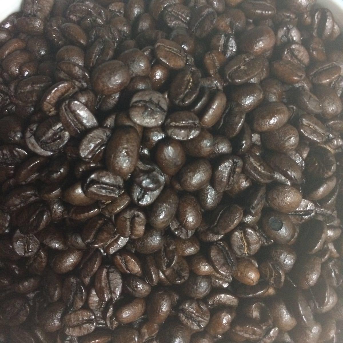 コーヒー豆 自家焙煎珈琲 ブラジル 200g フルシティ 中深煎り アイスコーヒー