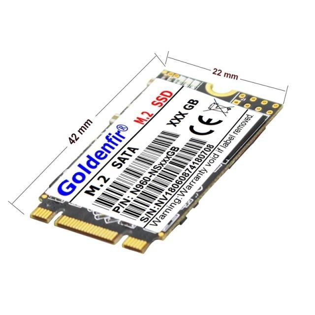 ~注目★必見~【送料無料】SSD Goldenfir M.2 256GB 2242 新品未開封 高速 SATA3 TLC 3D NAND 内蔵 デスクトップ ノートPC uyt_画像2