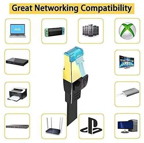 LANケーブル超高速 CAT8 40Gbps 2000MHz対応長さ(2M) 高速 pcケーブル cat8