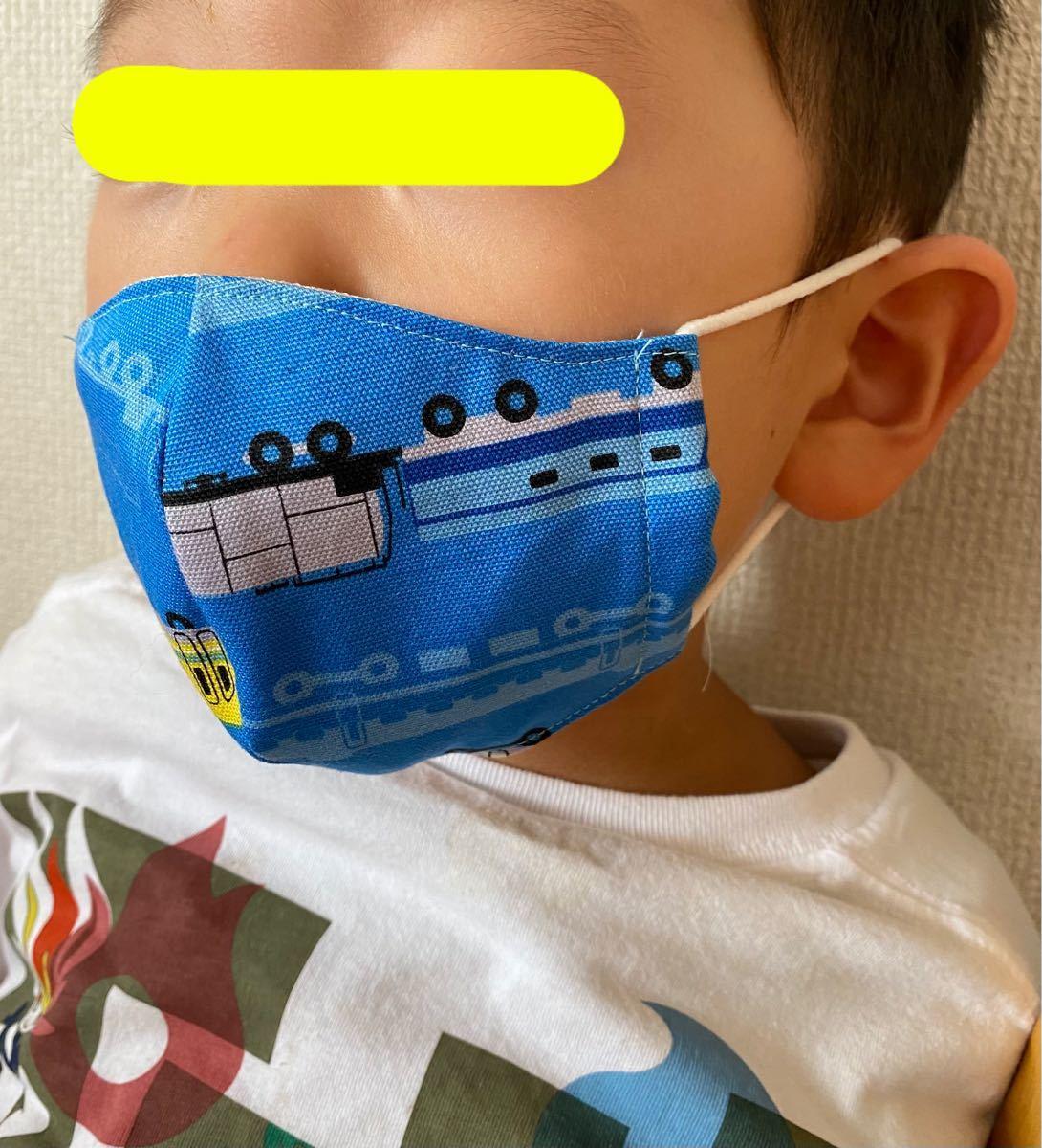 インナーマスク 子供用 ハンドメイド 4枚組