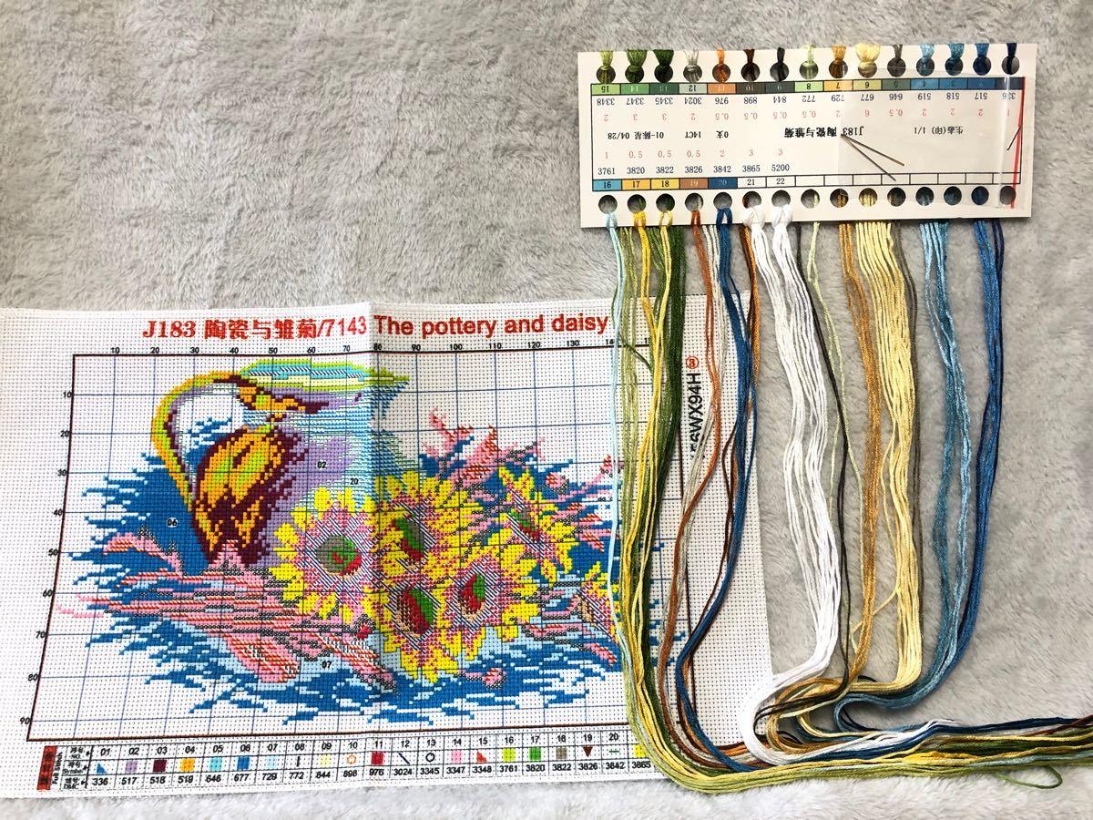 クロスステッチ刺繍キット(J183)14CT