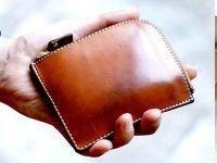 小銭入れ 財布 透明 アクリル型 レザークラフト 型紙