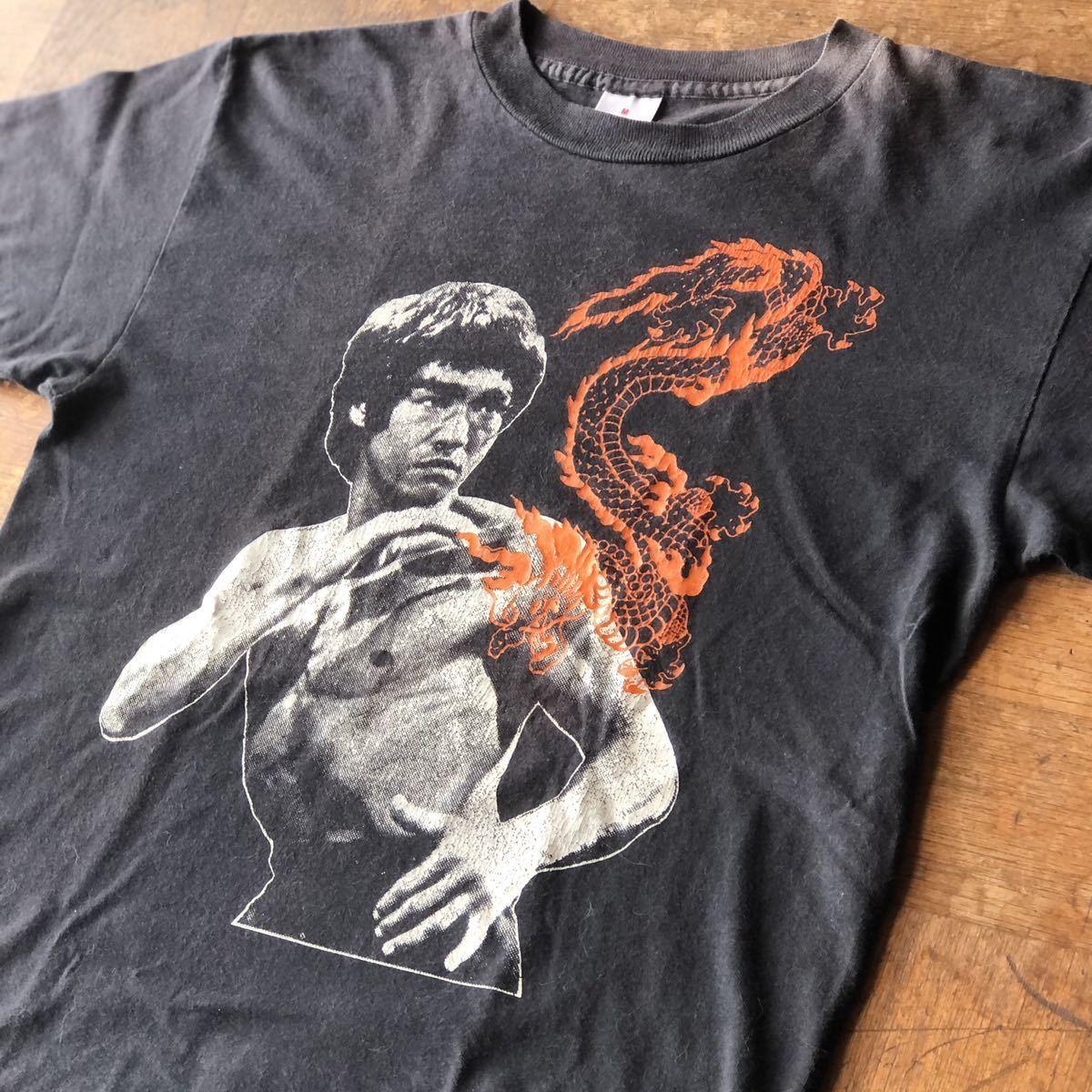 90s USA製 ビンテージ ブルース・リー Tシャツ / stussy ステューシー 黒タグ 初期 supreme リバース チャンピオン 70s 80s 90s 映画T _画像1