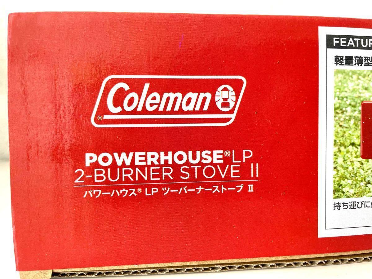 コールマン(Coleman) バーナー パワーハウスLPツーバーナーストーブ2 レッド