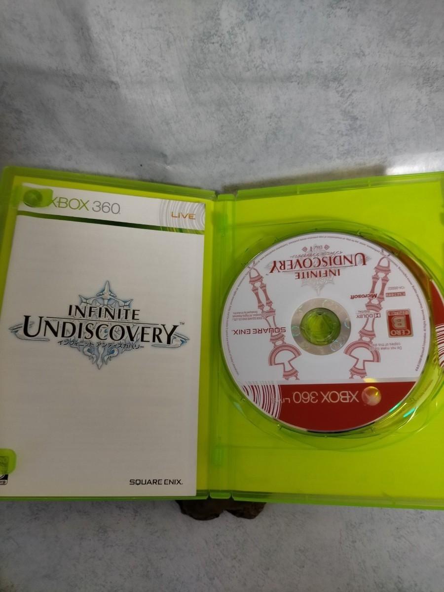 xbox360用 ゲームソフト  インフィニット アンディスカバリー  中古品。