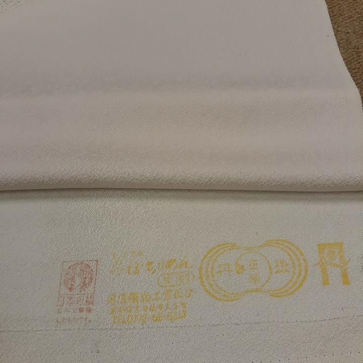 正絹 80309 淡いピンク色 疋田柄 シルク250cm はぎれ ハギレ リメイク ハンドメイド