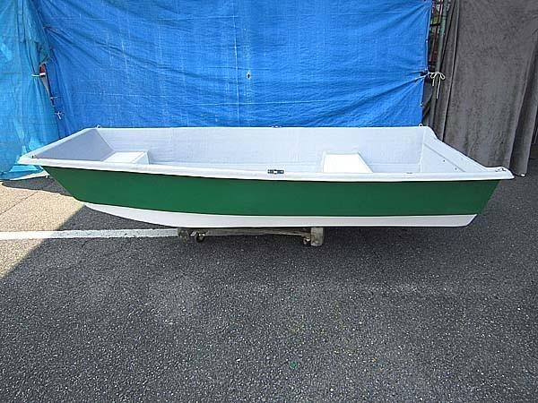 「09)【引取限定・一部エリアのみ配送可】FRPボート 試作品 船体のみ 三重県」の画像1