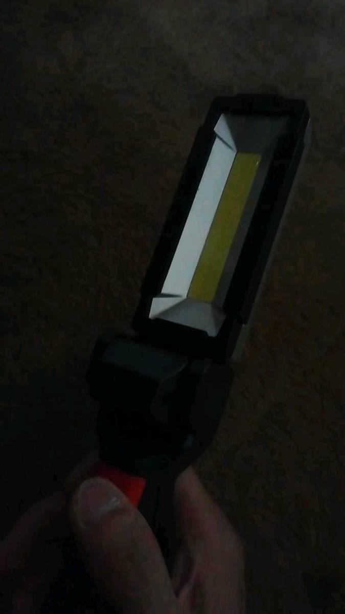 作業灯、 LEDワークライト、折り畳み式、usb充電式 、ハンディライト