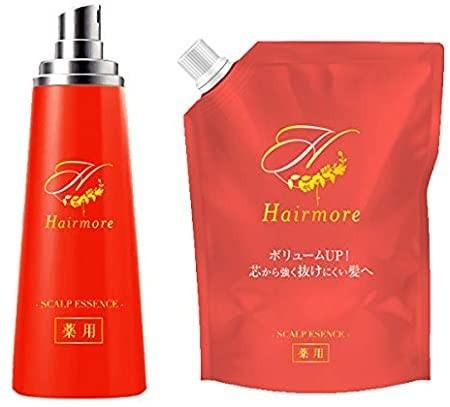 薬用ヘアモア-Hairmore-スカルプケアエッセンス