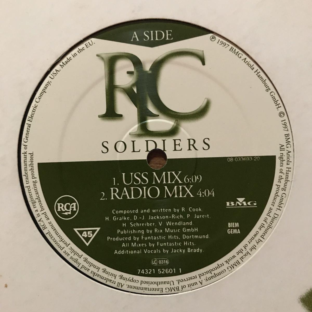 ●【eu-rap】RLC / Soldiers[12inch]オリジナル盤《R51 9595》
