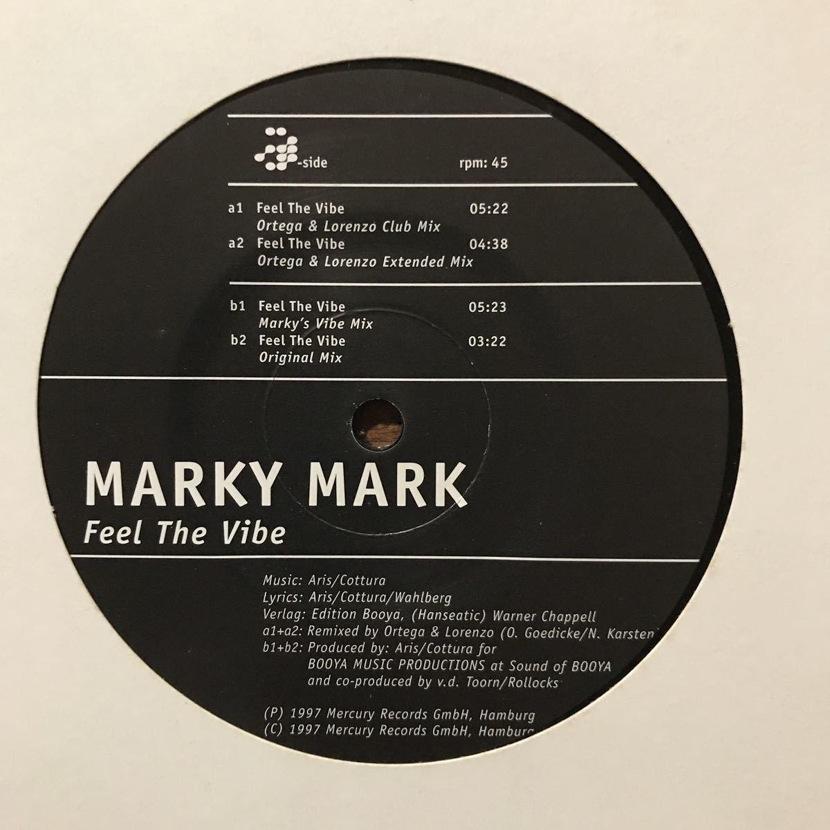 ●【eu-rap】Marky Mark / Feel The Vibe[12inch]オリジナル盤《R014 9595》