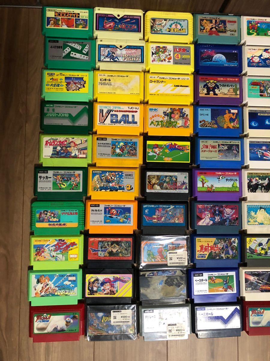 ファミコンソフト まとめ売り 73本  ファミコンカセット  任天堂