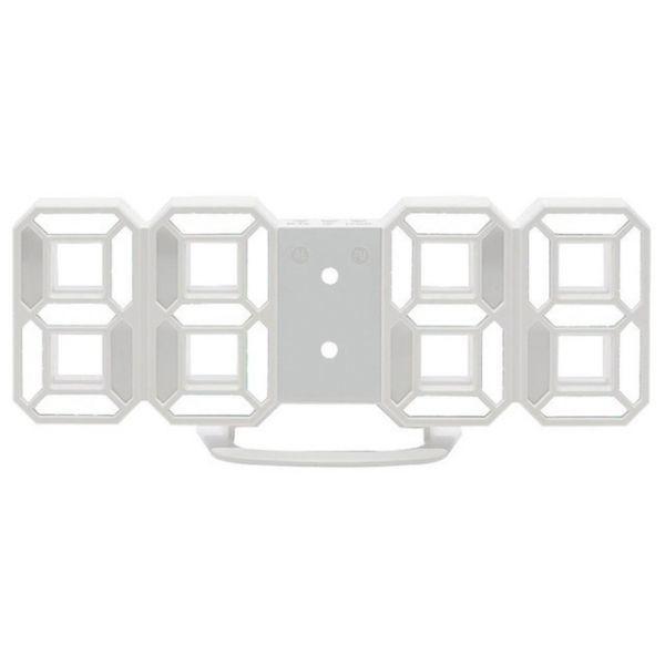 インテリア 壁掛け時計 デジタル ウォールクロック 選べる4色 LED Digital Numbers Wall Clock_画像3