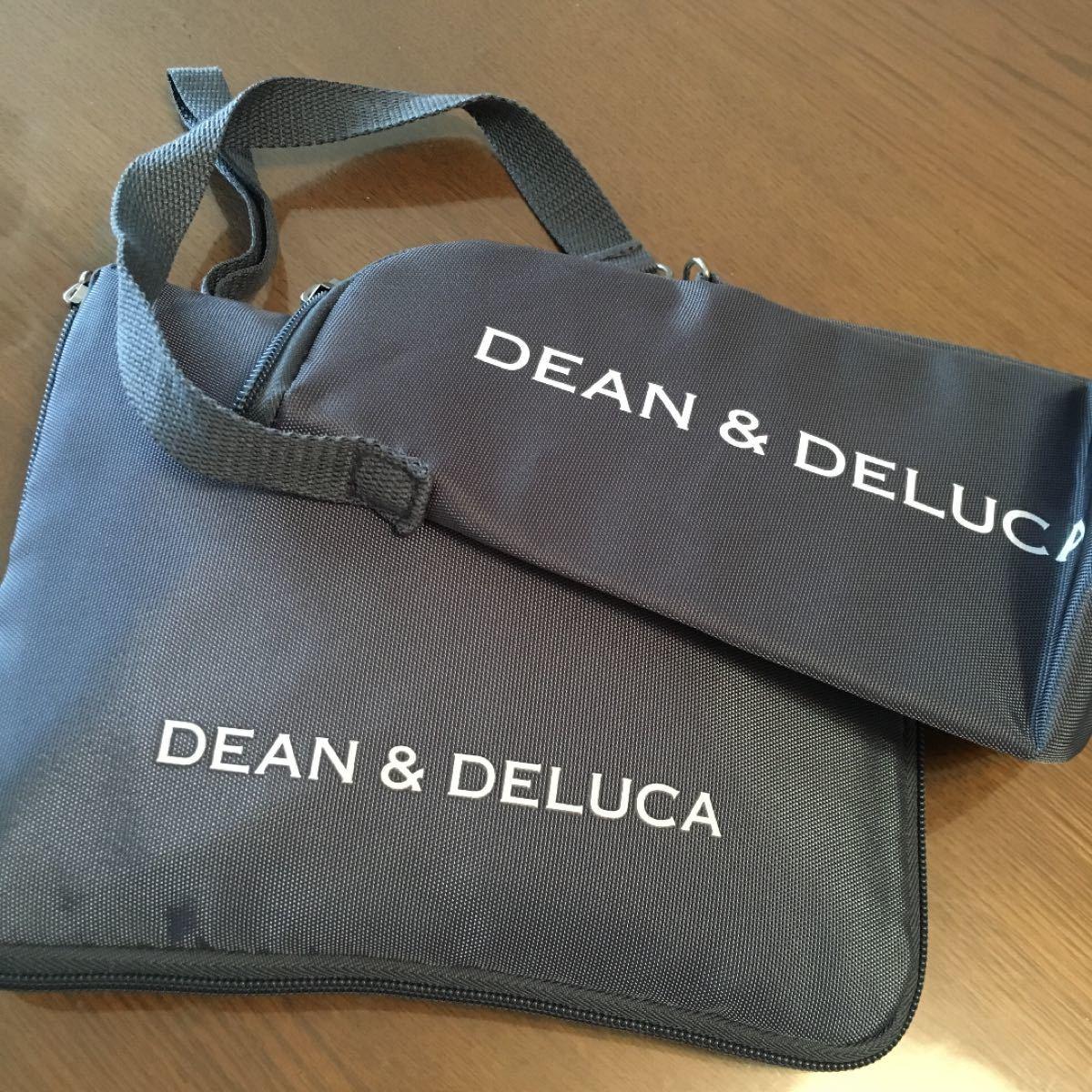 DEAN&DELUCA エコバック トートバッグ レジカゴ  ボトル 新品未使用 2点 グレー