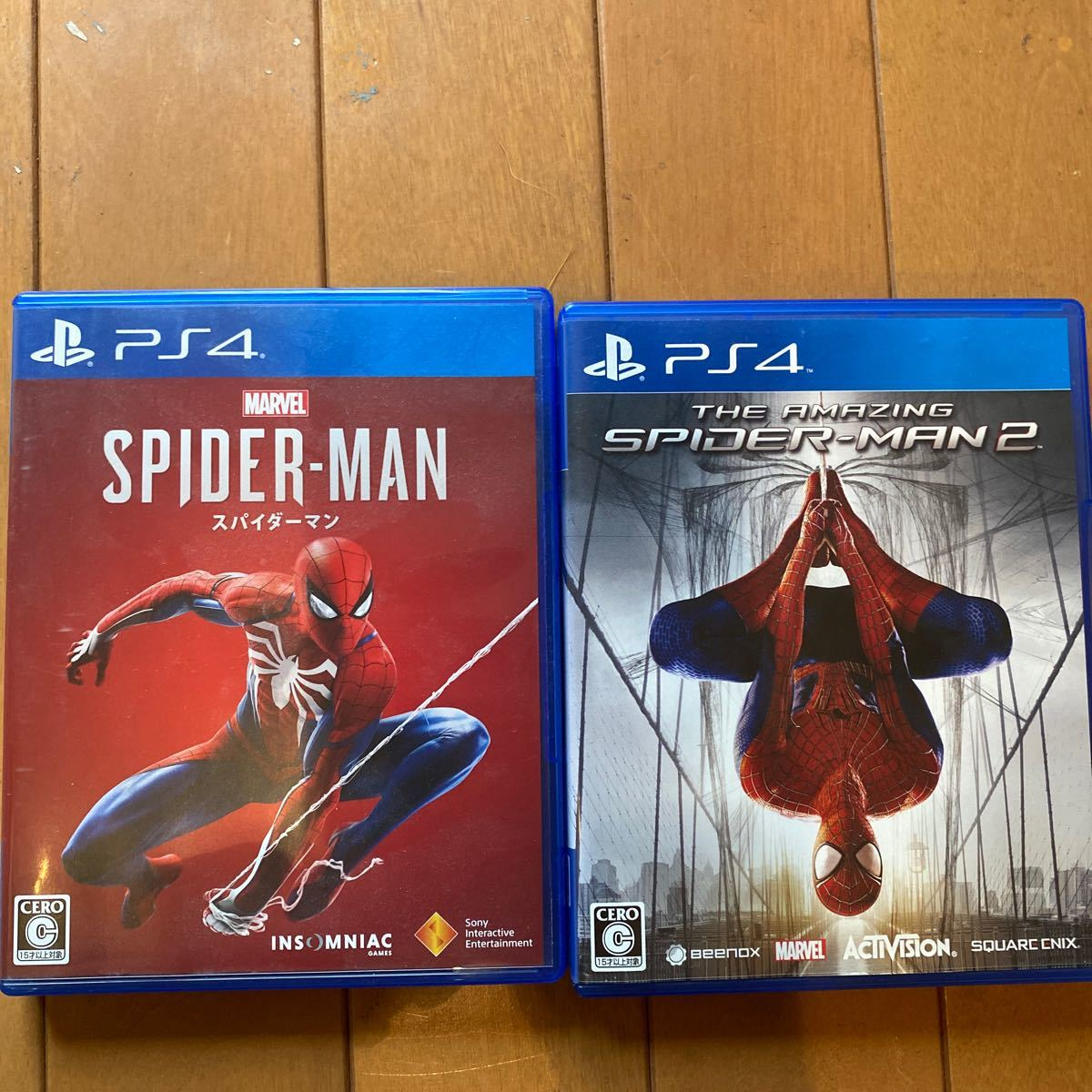 PS4 PS4ソフト スパイダーマン スパイダーマン2