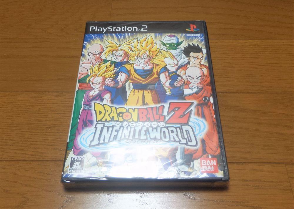 プレイステーション2 ドラゴンボールZ インフィニット ワールド INFINITE WORLD BANDAI バンダイ PS2 送料無料 追跡番号付き 匿名配送 即決