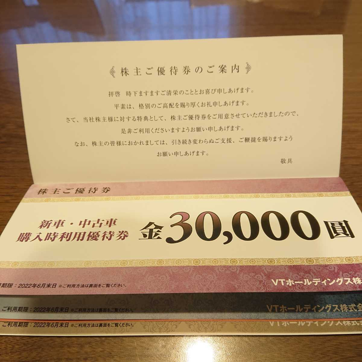 VTホールディングス株主優待 KeePer LABO20%割引券など (1冊:未使用)_画像4