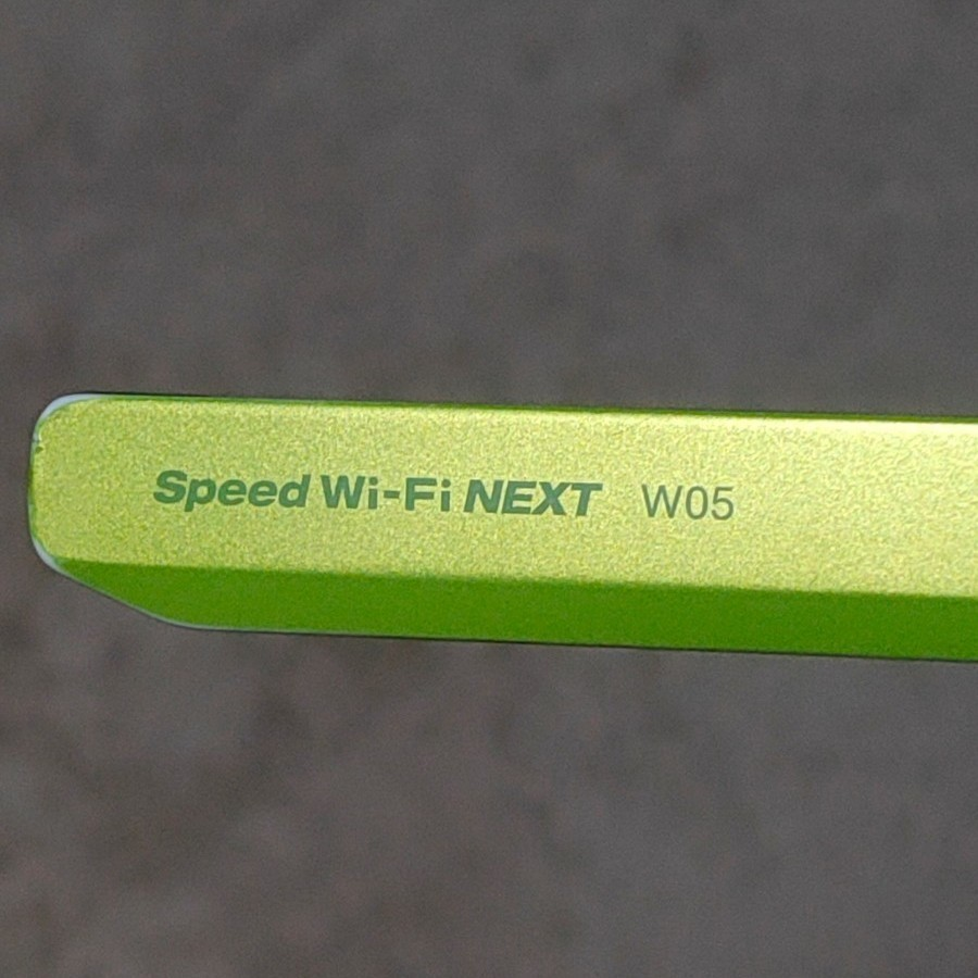 WiMAX2  モバイルルーター Wi-Fi SPEED ライムグリーン