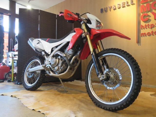 「□HONDA CRF250L MD38 ホンダ 250cc 2012年式 15981km ホワイト 実動! オフロード バイク 札幌発」の画像3