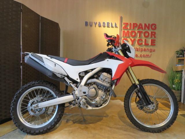 「□HONDA CRF250L MD38 ホンダ 250cc 2012年式 15981km ホワイト 実動! オフロード バイク 札幌発」の画像1