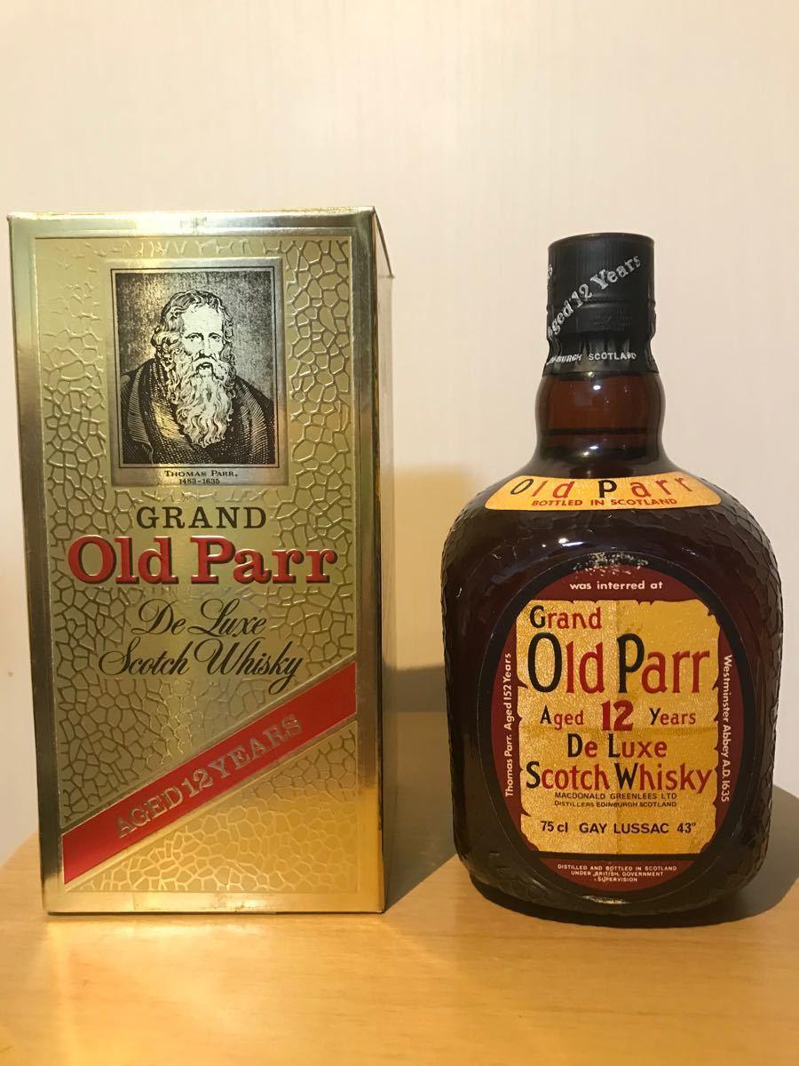 ブレンデッドスコッチウイスキー オールドパー 12年 旧ボトル 古酒 特級 従価 スーペリア 山崎 クラガンモア ブラックニッカ