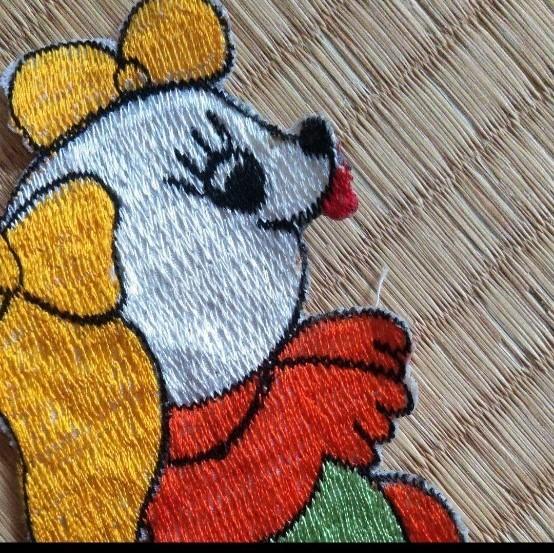 アイロンワッペン アップリケ 刺繍ワッペン アイロン ワッペン ハンドメイド いぬ とり うさぎ くま さる