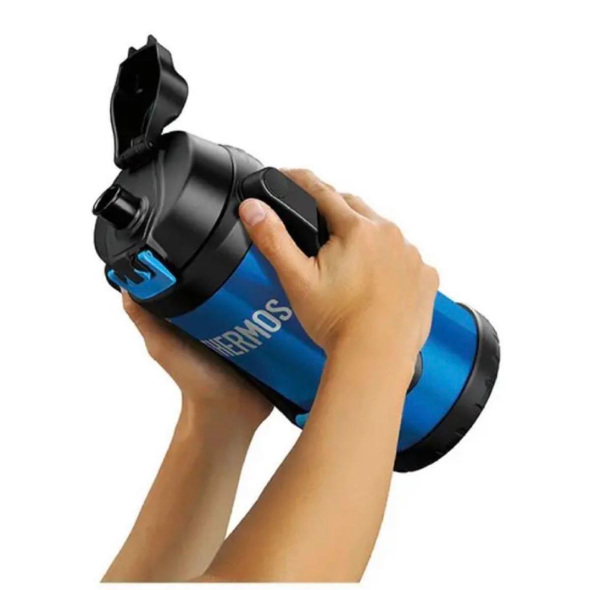 サーモス 水筒 真空断熱スポーツジャグ 2リットル FFV-2000 アイスブルー ICB