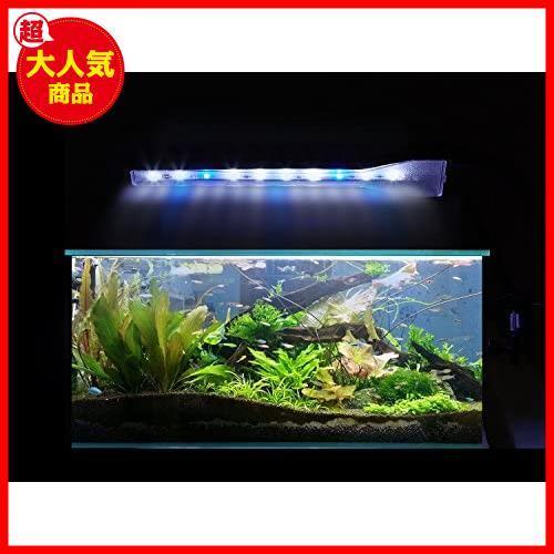Anpet 水槽LEDランプ クリップ式 2.9W アクアリウム 照明ライト LED白7枚+青2枚 長寿命 省エネ 水草育成 観賞魚/熱帯魚/金魚などの飼育_画像6
