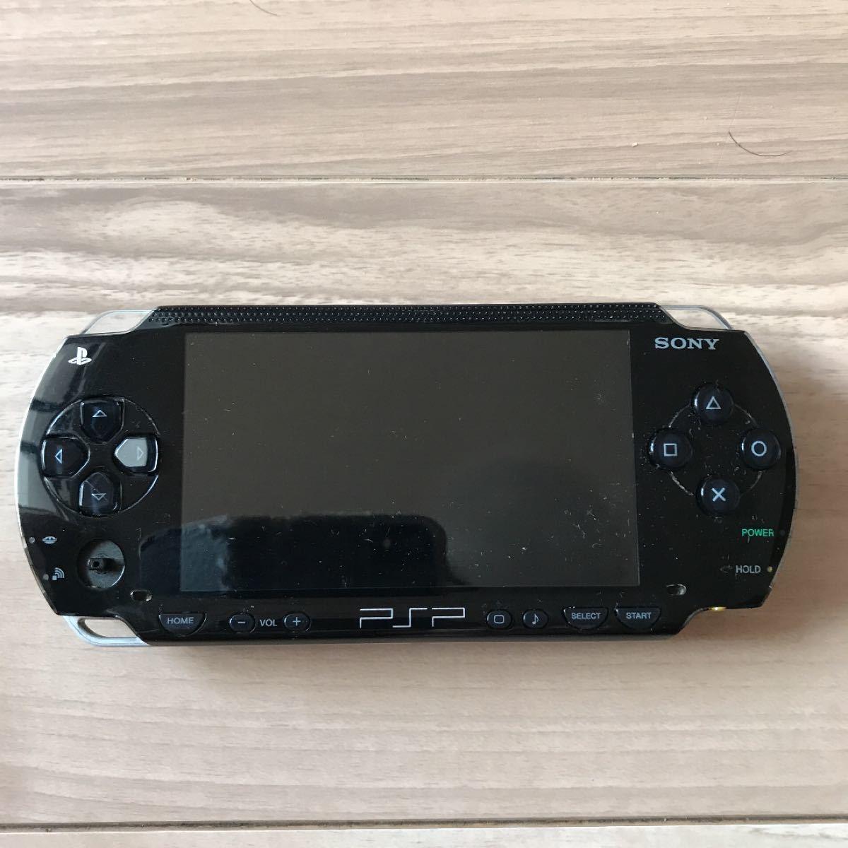 SONY PSP本体1000。ACアダプター付き